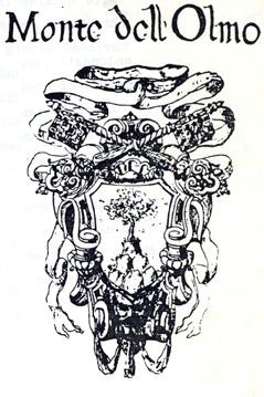 stemma di Monte dell'Olmo (Corridonia, Macerata)